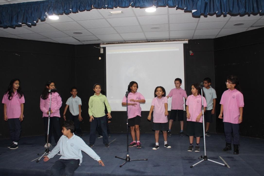Mini Exposition à l'école de Giza, Classe de PP6, Mme Rayya, le 5 avril 2018
