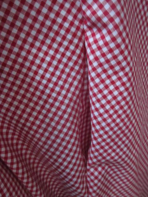 Robe HENRIETTE en vichy rouge et blanc (5)