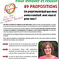 3 - les 89 propositions du programme