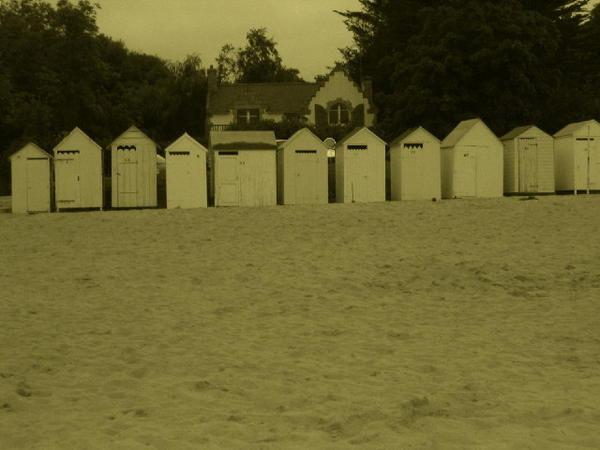 Cabines de plage (Port Manech)