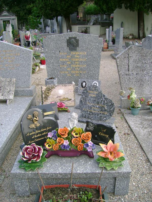 255 - Tombe de la famille Fierville