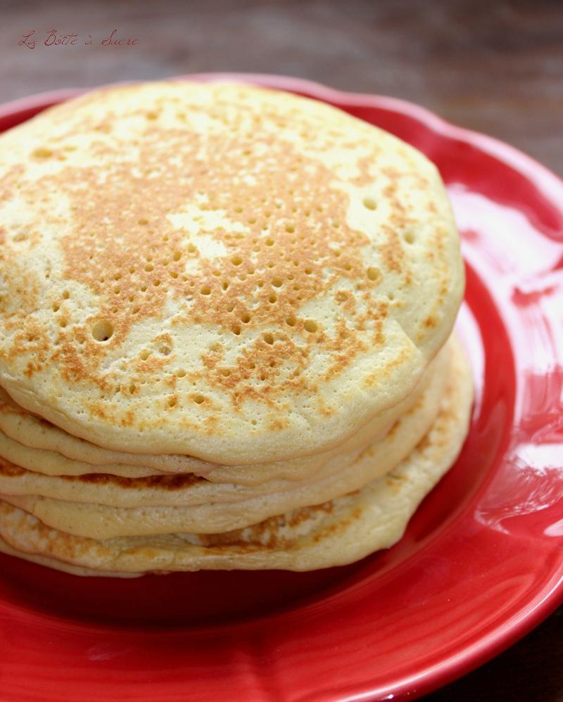 Pancakes crème fraîche