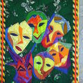Patchwork masques