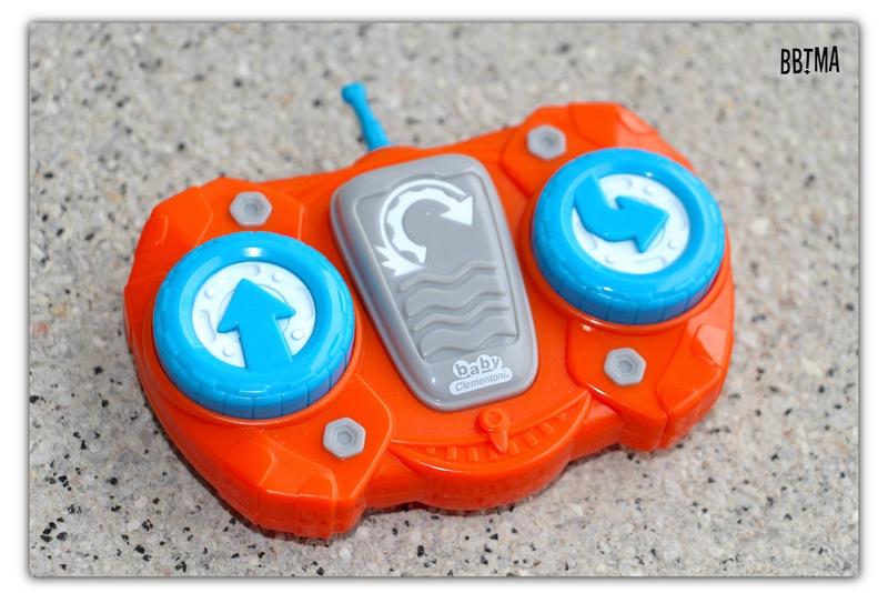 voiture théo l'auto culbuto clementoni télécommandée jouet roulade 2 ans 4 ans bbtma blog #4