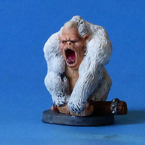 From D&D ? to Frostgrave White Gorilla
