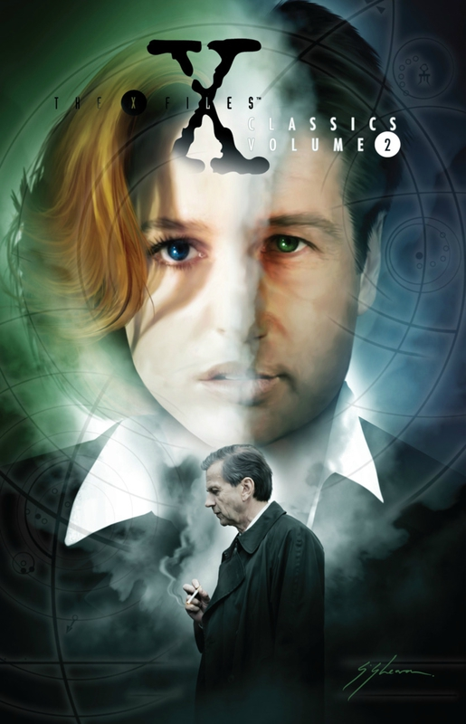 IDW x-files classic vol 2 HC
