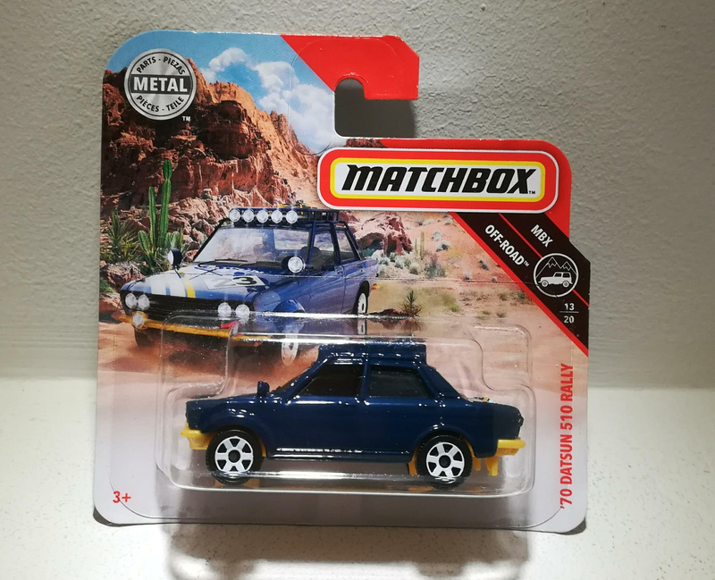 Datsun 510 Rally de 1970 (Matchbox) (2)