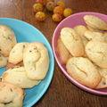 Madeleines légères aux pépites de chocolat ou au citron et graines de pavot
