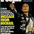 Michael's first epistle - people weekly, 12 octobre 1987