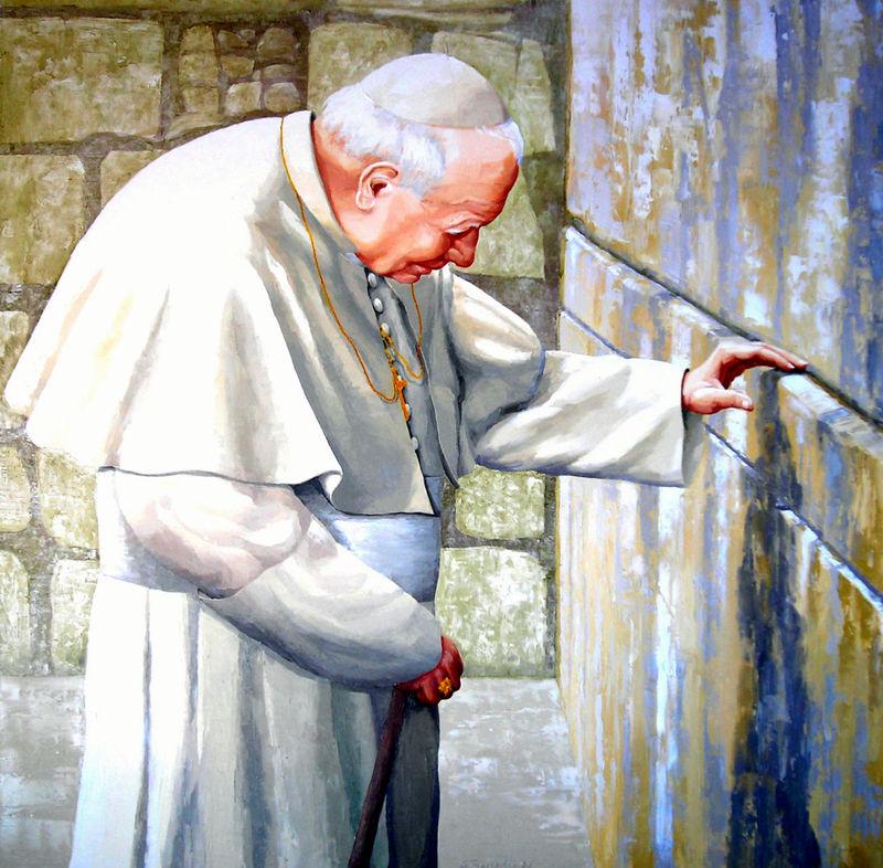 Giovanni-Paolo-II-al-muro-del-pianto