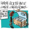 Hadopi rejetée par le conseil constitutionnel