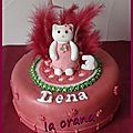 Gâteau hello kitty/hello kitty cake