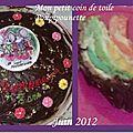 Gâteau pour l'anniversaire de ma louloute
