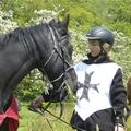 balade à cheval médiévale - Abbaye de Hambye (215)