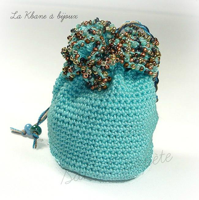 pochon turquoise 5