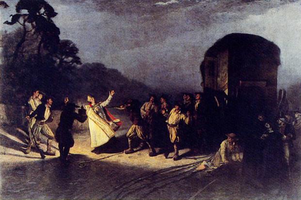 Assassinat de l'eveque Audrein
