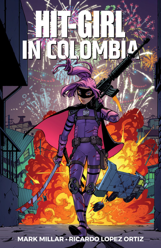 hit-girl vol 01 colombia TPB