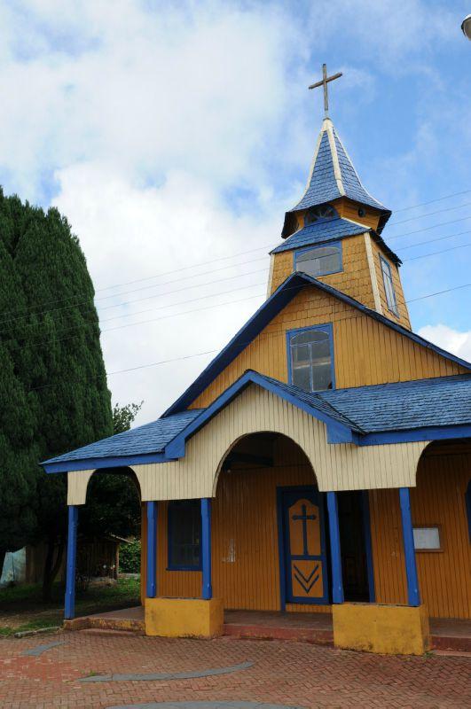 Chiloé Quemchi Eglise