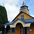 Chiloé Quemchi Eglise