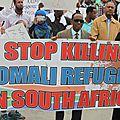 Afrique du sud des racistes noirs