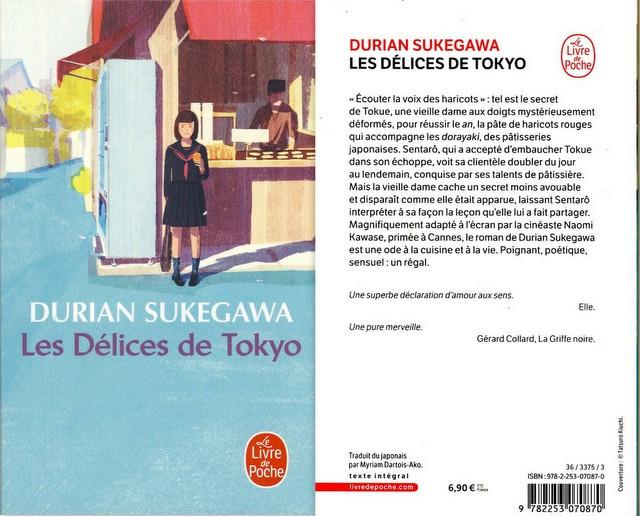 2 - Les Délices de Tokyo - Durian Sukegawa