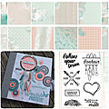 Album follow your dream - atelier offert - etape 5 - collection follow your dreams - sylvie leblanc