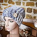 Le bonnet/snood 2 en 1