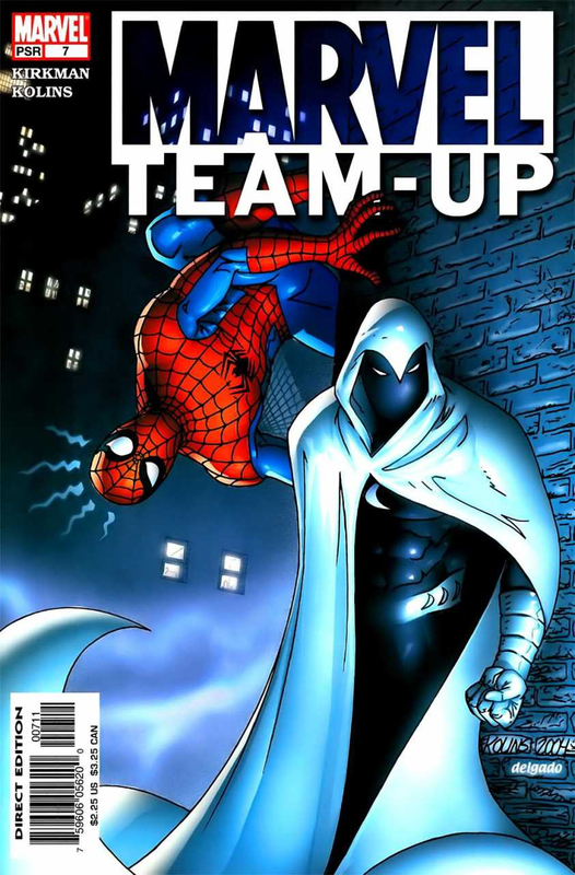 marvel team-up 2005 07 spiderman & moon knight