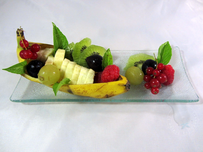 Fruits en gondole