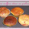 Mini-muffins au citron ou aux pralines roses ?
