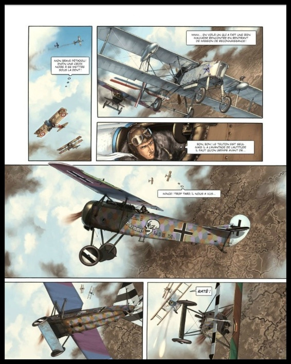le pilote a l edelweiss tome 3 4