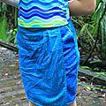 Short-jupe façon pantalon clay