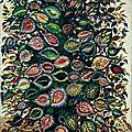 Art naïf 1928-29 _ Feuilles_Séraphine Louis -Séraphine de Senlis-