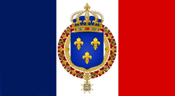 drapeau-royal-de-france