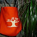 Sac orange baobab