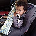 Un coussin pour la ceinture de sécurité