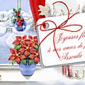 Noël, mes vœux pour vous mes amies et lectrices-teurs