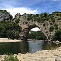 Vallon pont d'arc - ruoms