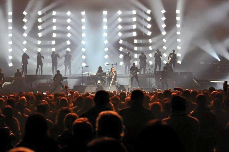 le 22 janvier 2016 Rester Vivant Tours l'Aréna de Montpellier (5)