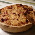 The tarte a l'oignon