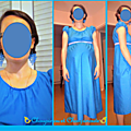 robe et BO bleu