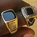 Magic ring to detect the poison of david medium clairvoyance pure