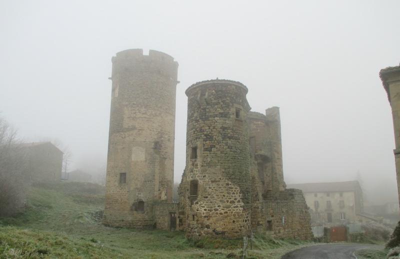Château de Mercoeur St P d'Allier