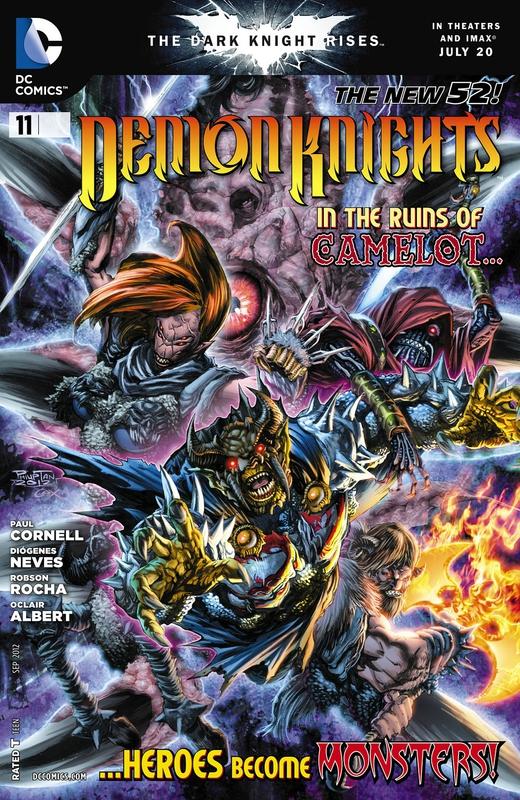new 52 demon knights 11