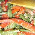 Haricots verts à l'aigre-douce