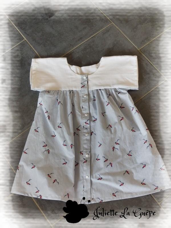 Millie Blouse blanche colibri
