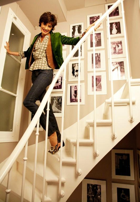 escalier-ines-de-la-fressange