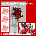 BOUQUET DE MARIEE ROSES STABILISEES CREATION Brigitte