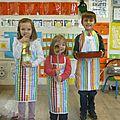 Atelier cuisine avril et anniversaires en maternelle