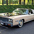 Cadillac eldorado custom classic biarritz coupe de 1978 (Rencard Haguenau avril 2011) 01